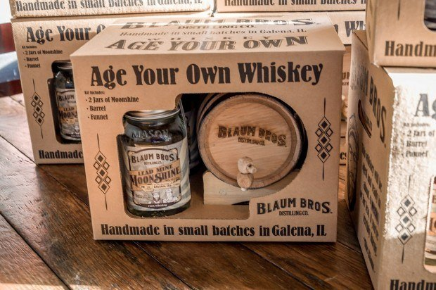 Age your own whiskey kits from Blaum Bros Distillery.