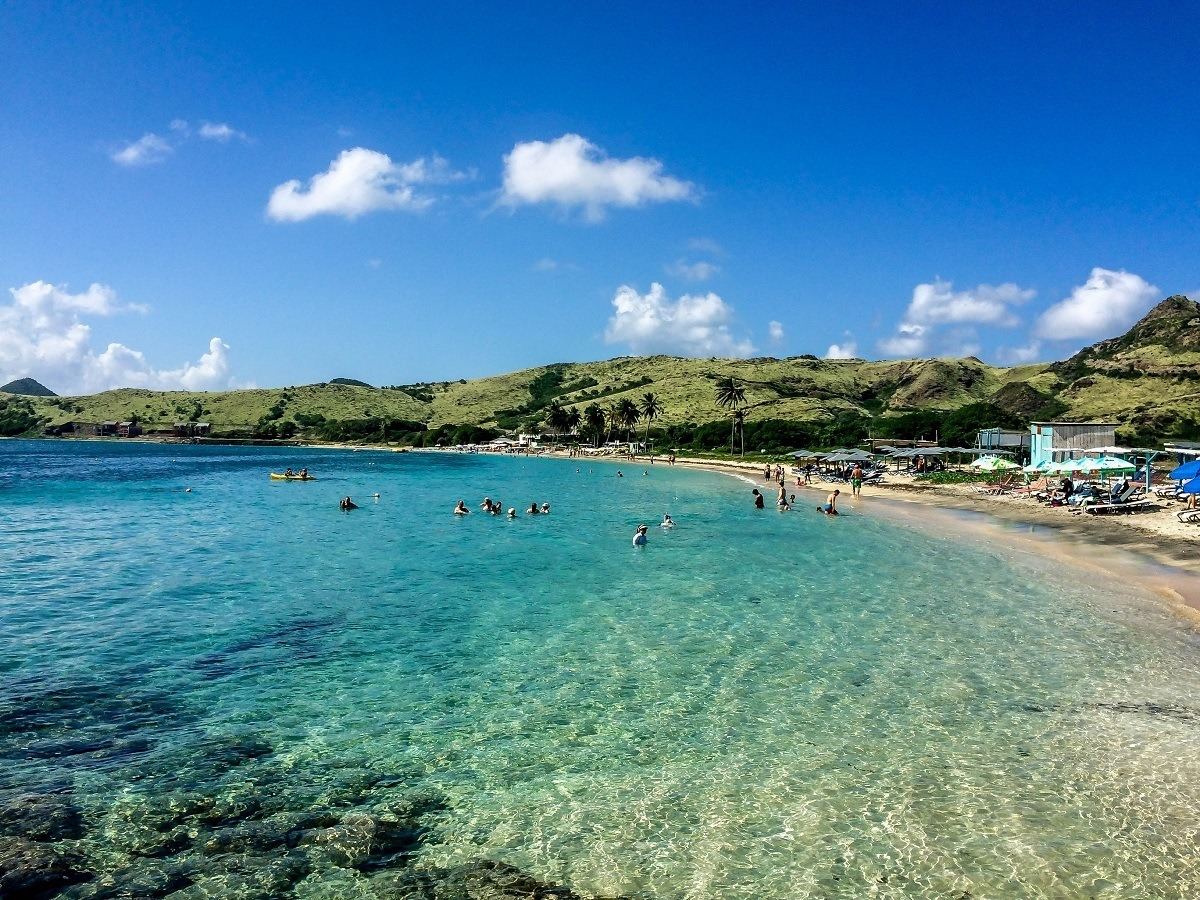 Leshell Beach In St Kitts