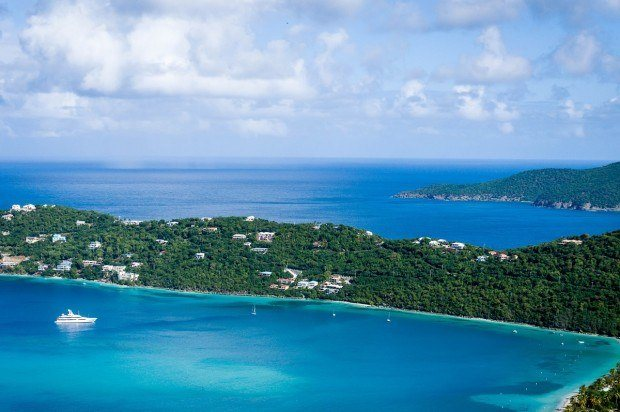 A final view of Magens Bay as we were touring St. Thomas.