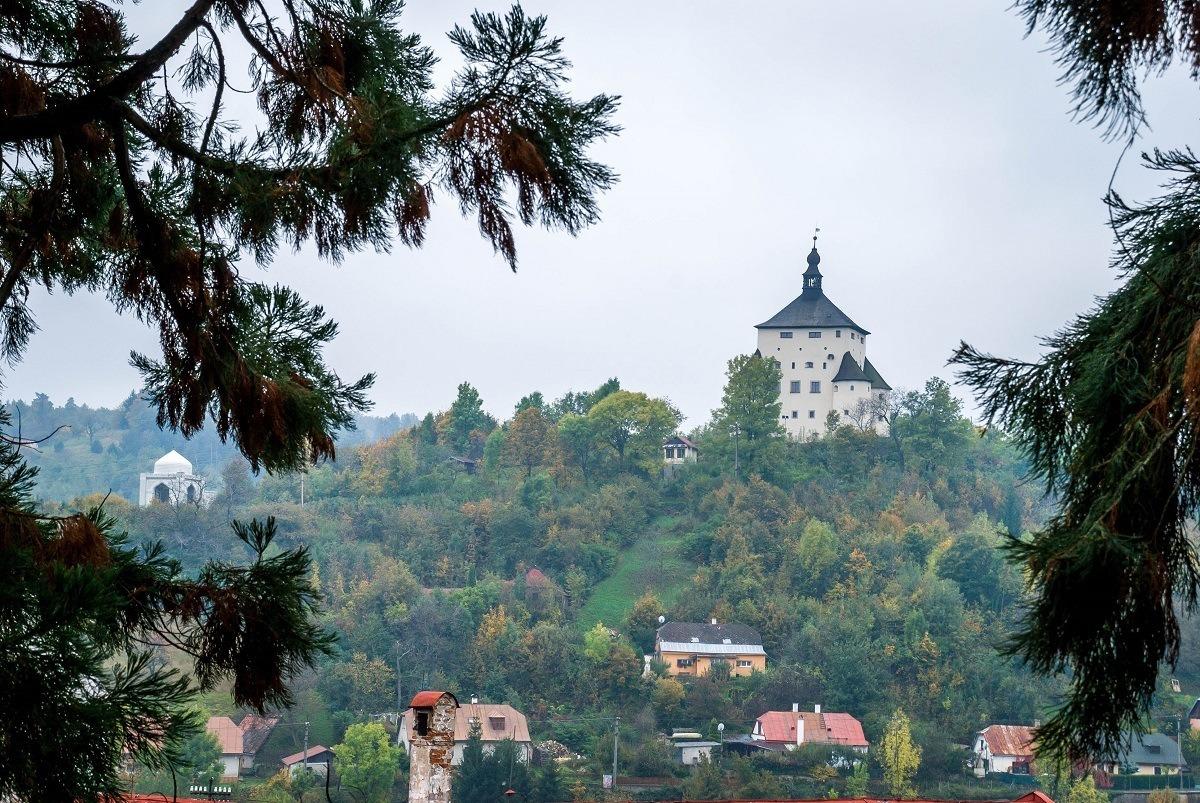 The New Castle in Banska Stiavnica, Slovakia.