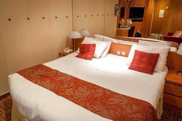 A Celebrity Summit stateroom.  This is an interior cabin.