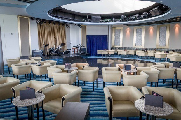 The Revelations Lounge and nightclub aboard the Celebrity Summit cruise ship.  You can dance here almost every night.