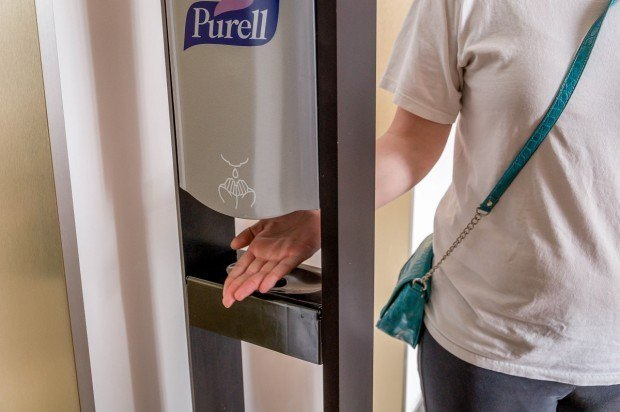 One of our top cruise tips is to use the hand sanitizer stations frequently.