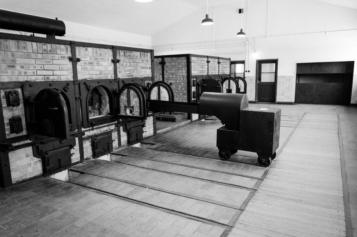 The Buchenwald Camp had six crematory ovens.
