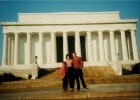 Seeing the Lincoln Memorial while visiting all 50 states.