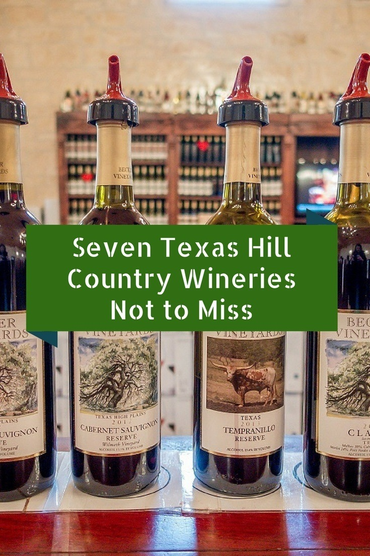Wine from Texas? These seven wineries in the Texas Hill Country offer remarkable scenery and award-winning wines.