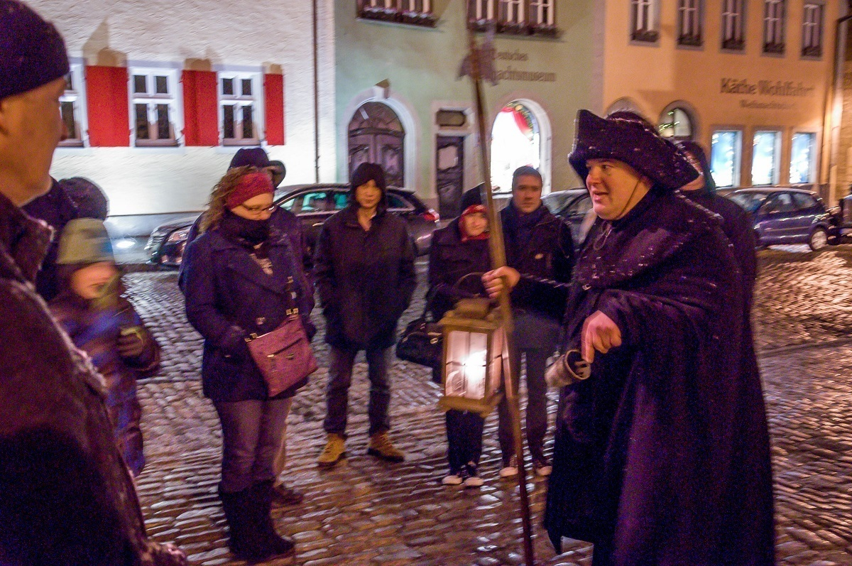 For me, the Rothenburg Nightwatchman Tour was the highlight of visiting this medieval city.