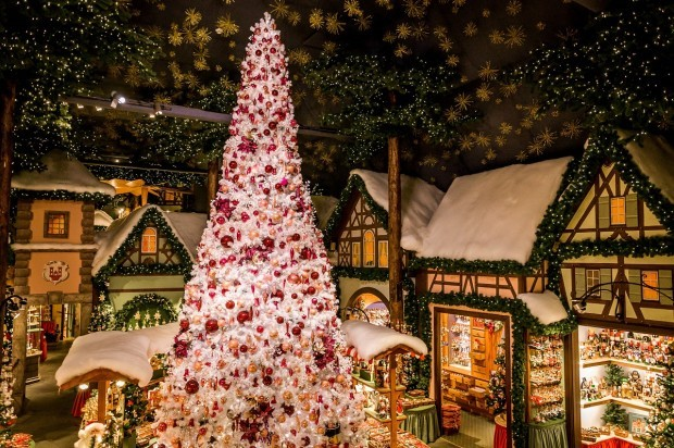 The Rothenburg Christmas store of Käthe Wohlfahrt.  It's always Christmas in Rothenburg.