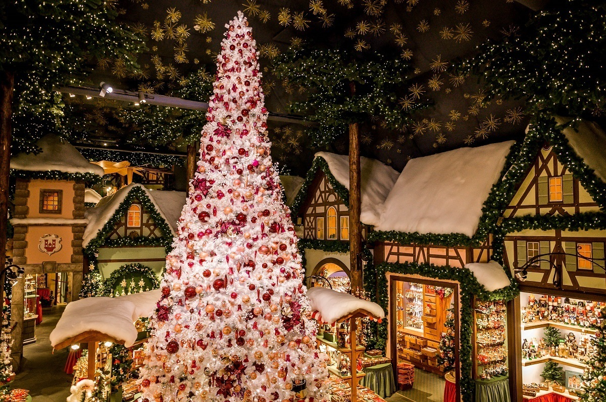 The Rothenburg Christmas store of Käthe Wohlfahrt.  It's always Christmas in Rothenburg.