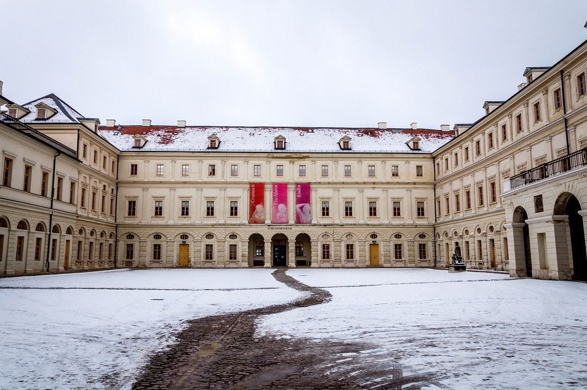 The Palace Museum in Weimar
