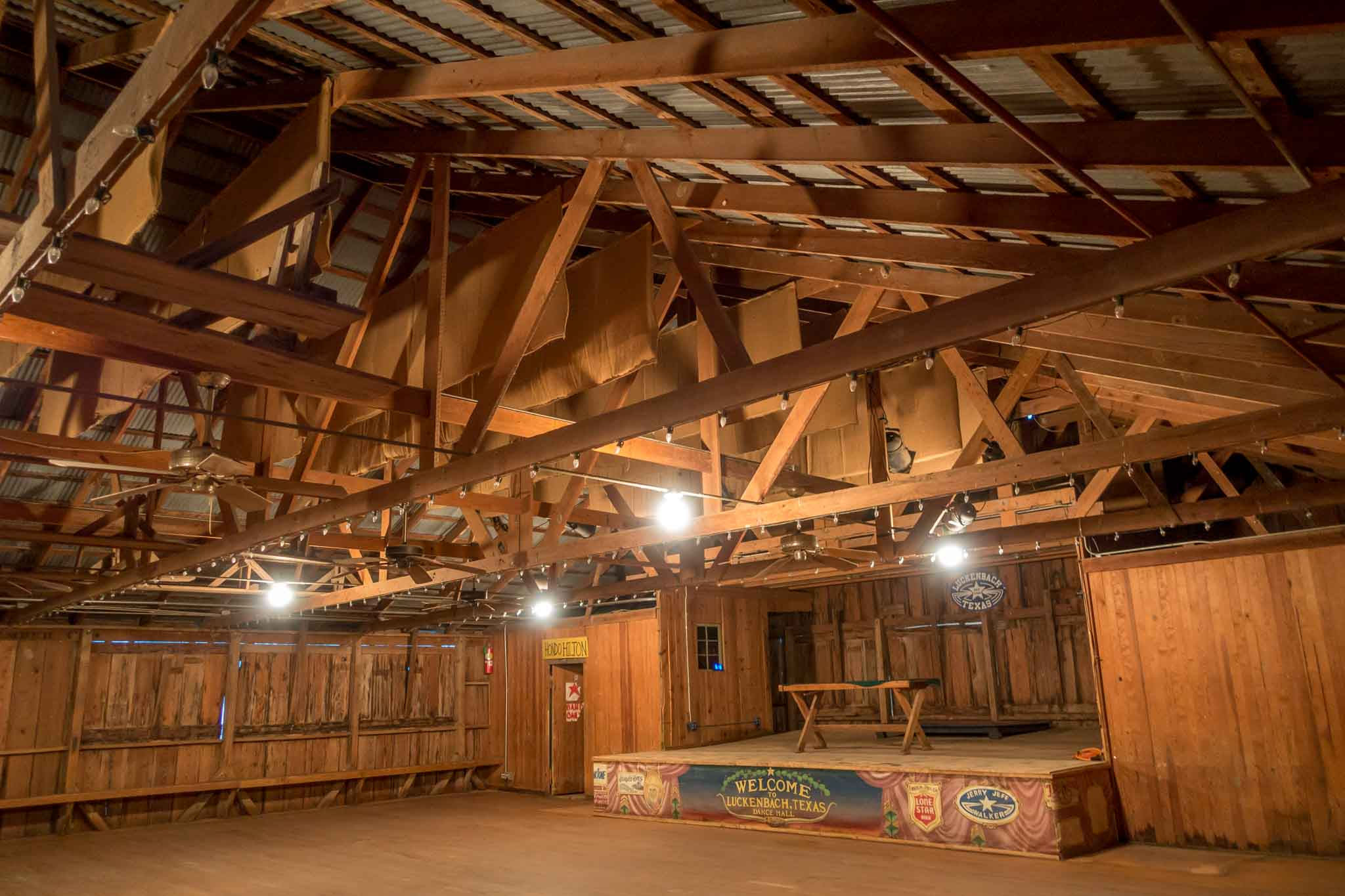 Luckenbach Texas dance hall
