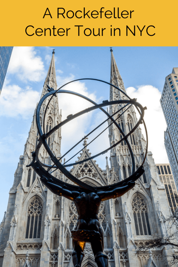 A tour of Rockefeller Center in New York covers the art and history of this magnificent landmark area in midtown Manhattan