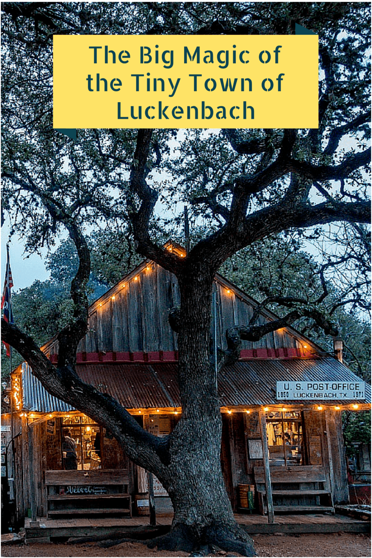 Luckenbach, Texas, is a charming two-building town filled with music and fun