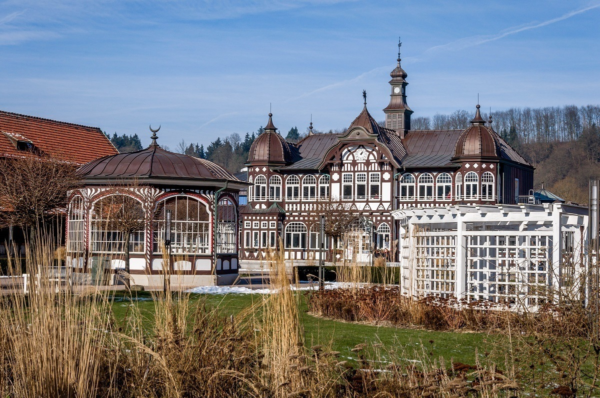 The Keltenbad spa in Bad Salzungen, Germany