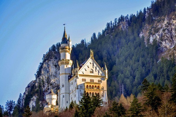 The Legendary Neuschwanstein Castle at the Southern end of Germany's Romantic Road. Arguably this is the best place to see in Germany (at the very least, one of the most popular). It is the one of the major highlights of The Romantic Road Germany tour route.