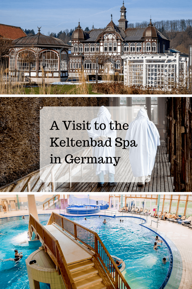 A relaxing spa visit in Bad Salzungen, Germany, is the perfect way to spend the afternoon. The nude spa may be an unusual experience for North Americans.