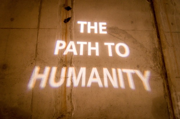 The Path to Humanity at the Maropeng Visitors Center in the Cradle of Humankind.