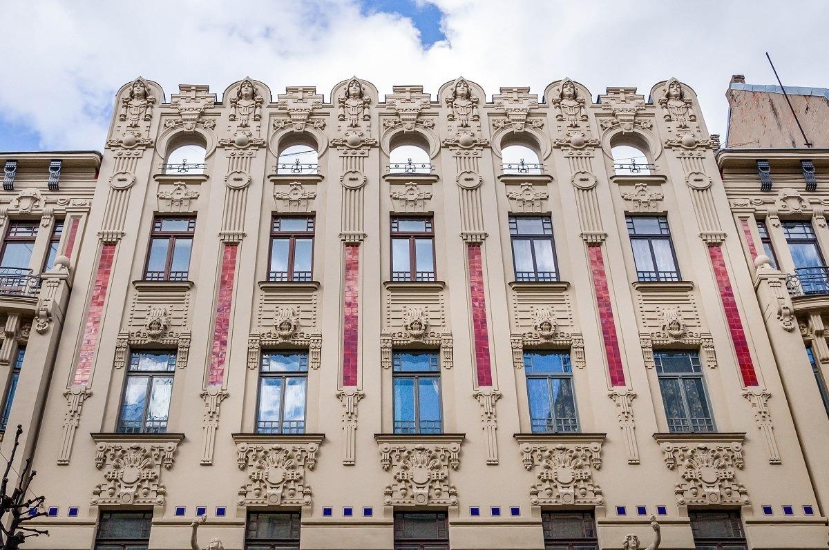 Art Nouveau Riga, Alberta Street 2a