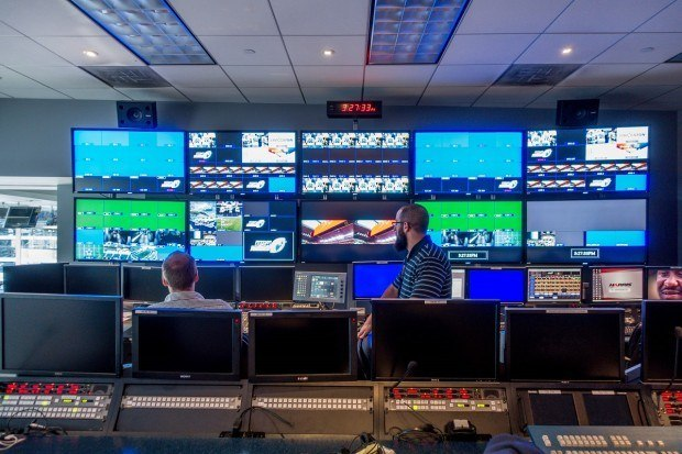 Visiting the control room on an AT&T Stadium Tour