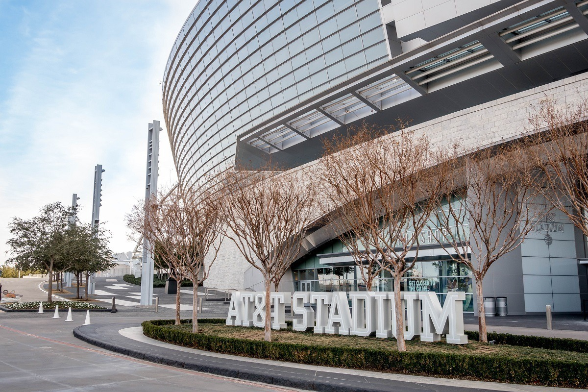 Dallas Cowboys Stadium if officially AT&T Stadium