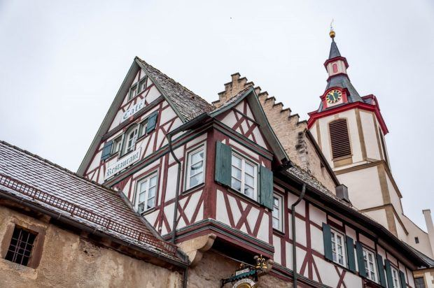 One of the highlights of a drive through Germany is a night at one of the many Romantic Road hotels and inns.