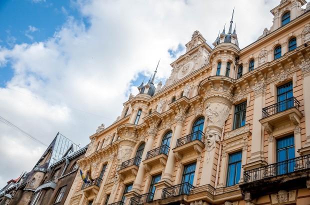 Example of Art Nouveau Riga