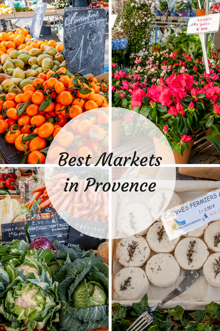 A look at seven of the best markets in the South of France