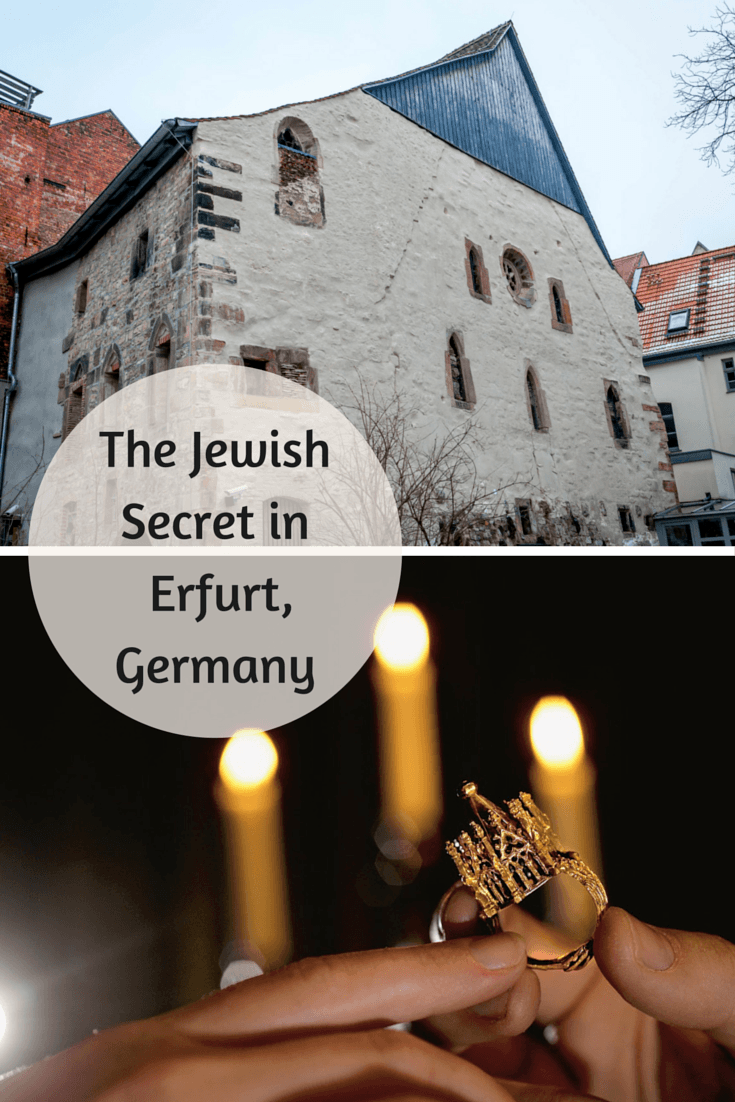 The remarkably unlikely story of one of Europes greatest treasures hidden for centuries and now on display at the Old Erfurt Synagogue in Germany.