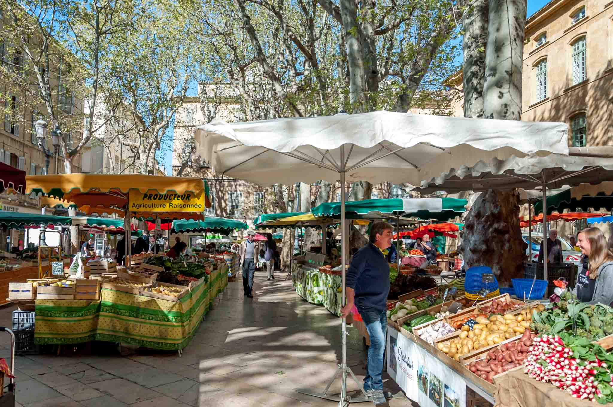 Image result for aix en provence market place richelme