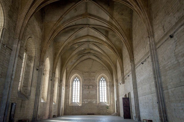 Grand Chapel at the Palais des Papes in Avignon