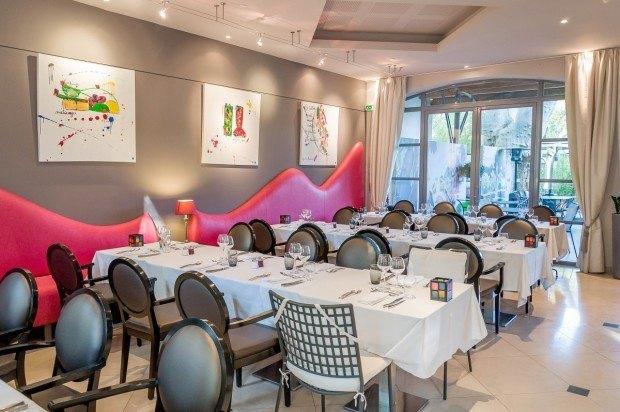 Les Terrasses de l'Image, the restaurant at the Hotel de l'image St Remy