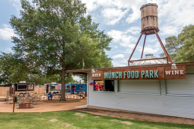 Munch Food Park is a fun place to visit in Fredericksburg TX