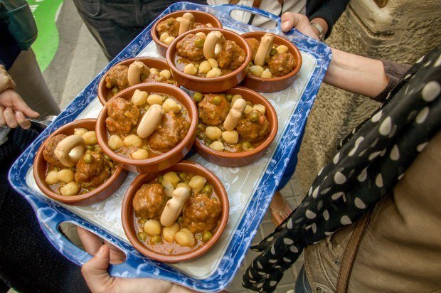 One of the most delicious dishes on the Barcelona food tour are the homemade meatballs (alblondigas) at La Botigueta del Bon Menjar in the Gracia neighborhood.