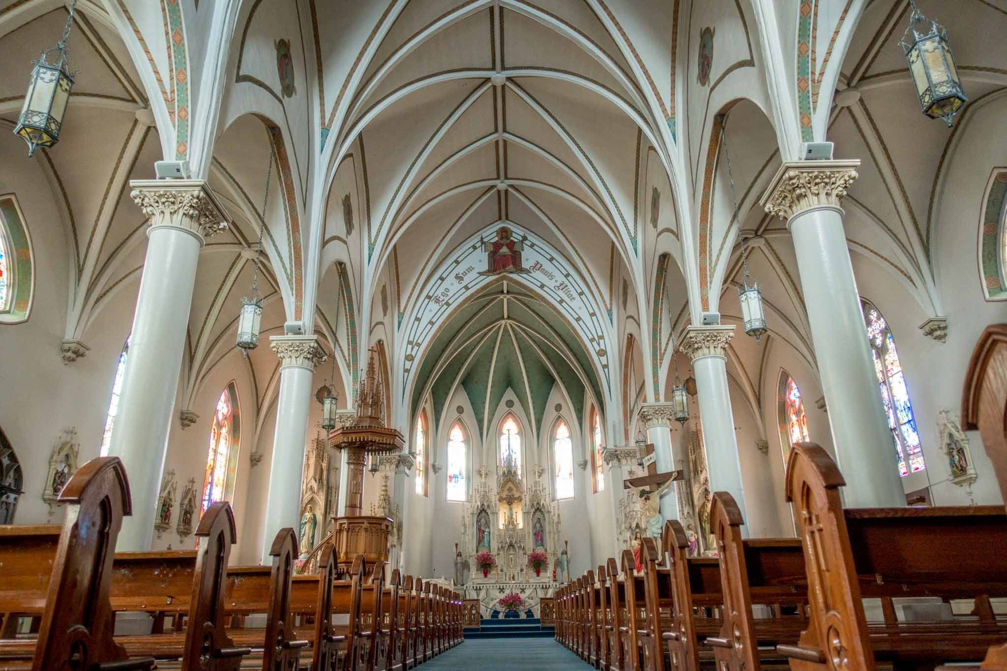 St. Mary's Church is one of the most unique Fredericksburg Texas points of interest