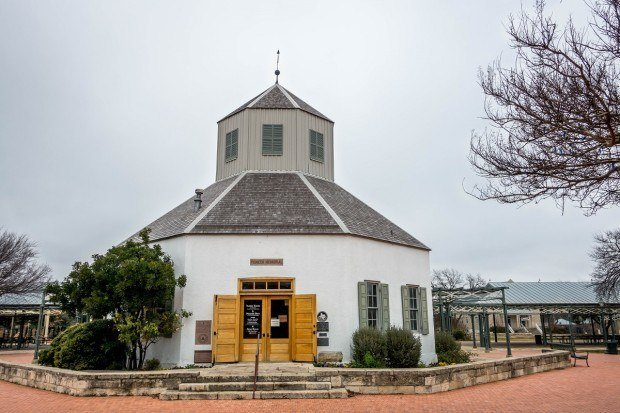 Visiting the Vereins Kirche is one of the the historical things to do in Fredericksburg Texas