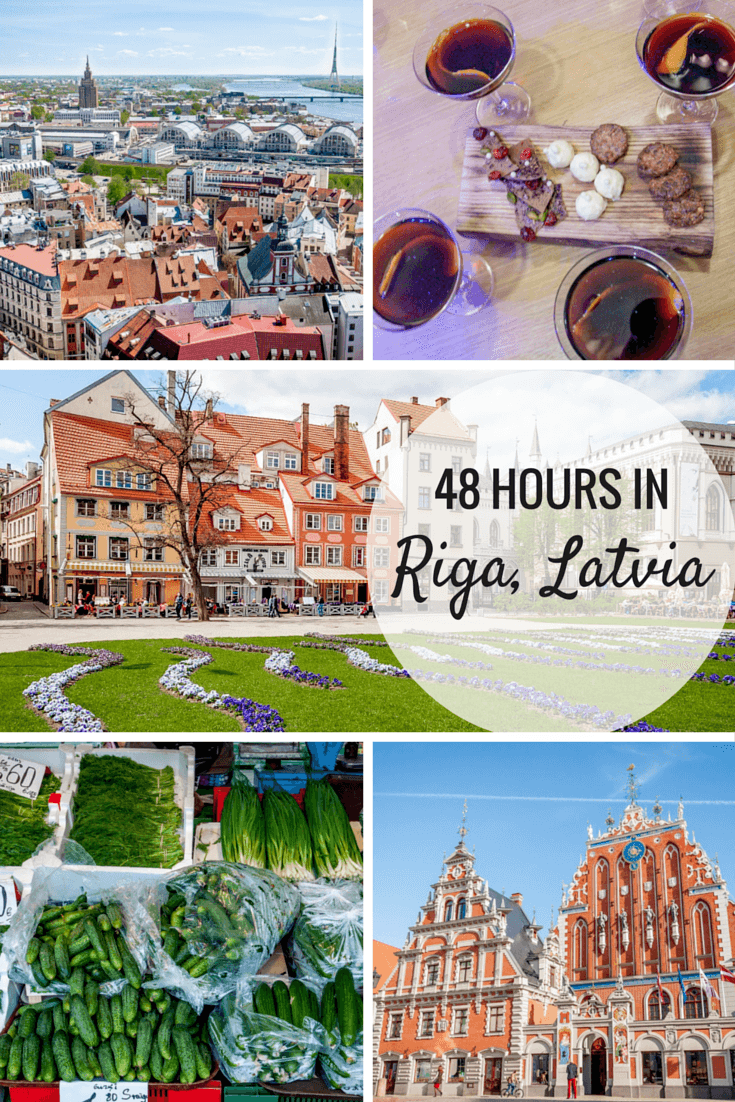 There are so many great things to do in Riga, Latvia, even if you only have 48 hours to spare. #riga #latvia #europe #baltics #travel