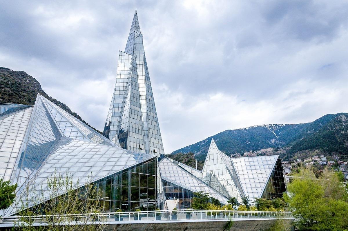 The INUU Caldea Andorra spa complex