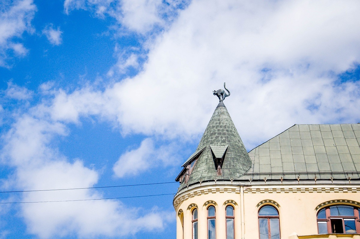 The Cat House is one of the unusual things to see if you have one day in Riga