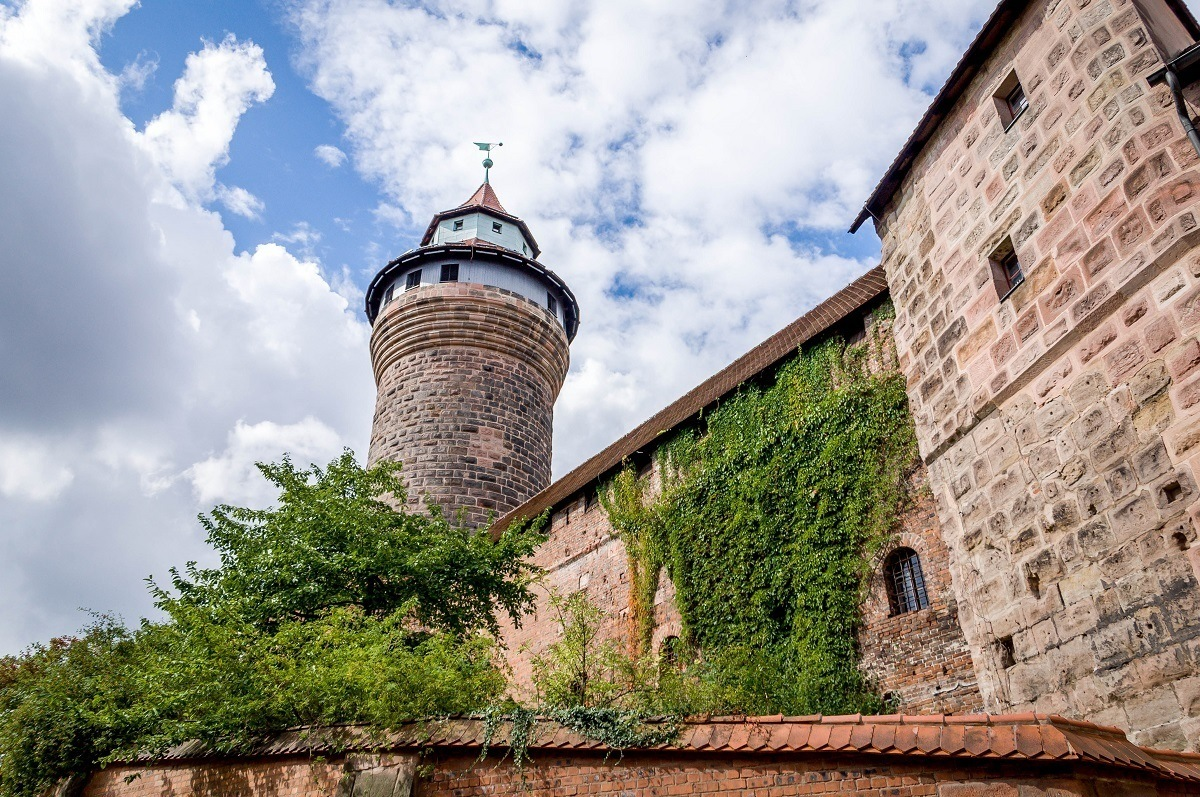 The turret on the Nuremberg Castle.