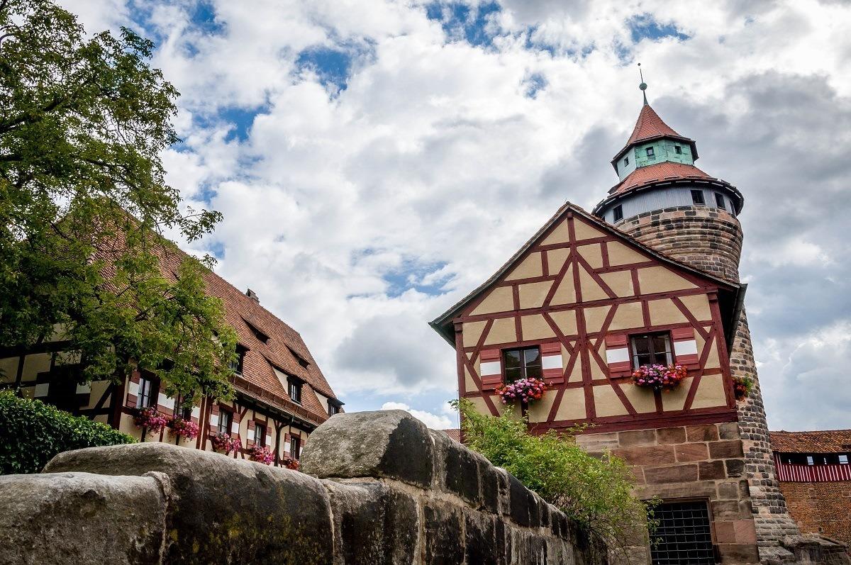 The castle in Nuremberg, Germany