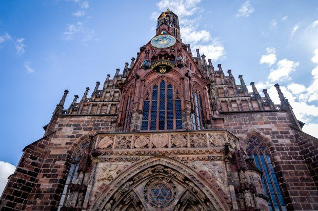 Favorite Nuremberg Photos: Church of our Lady on the main market square.