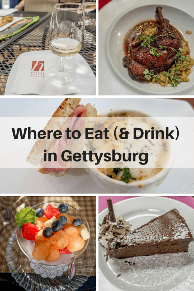 From a food tour to gourmet dining, there are lots of options for what to eat and drink in Gettysburg, Pennsylvania | Going Gourmet in Gettysburg