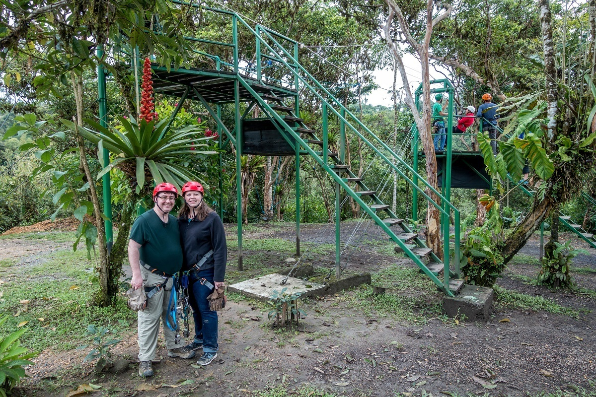Ziplining in the Andes mountains and snorkeling in the Galapagos made us careful about what to pack for Ecuador and the Galapagos