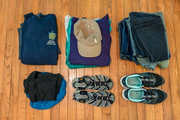 The women's packing guide for Ecuador. If you are wondering what to wear in Ecuador, this is it!  Clothes in Ecuador should be durable and versatile, while Galapagos clothing should be lightweight and quick drying.