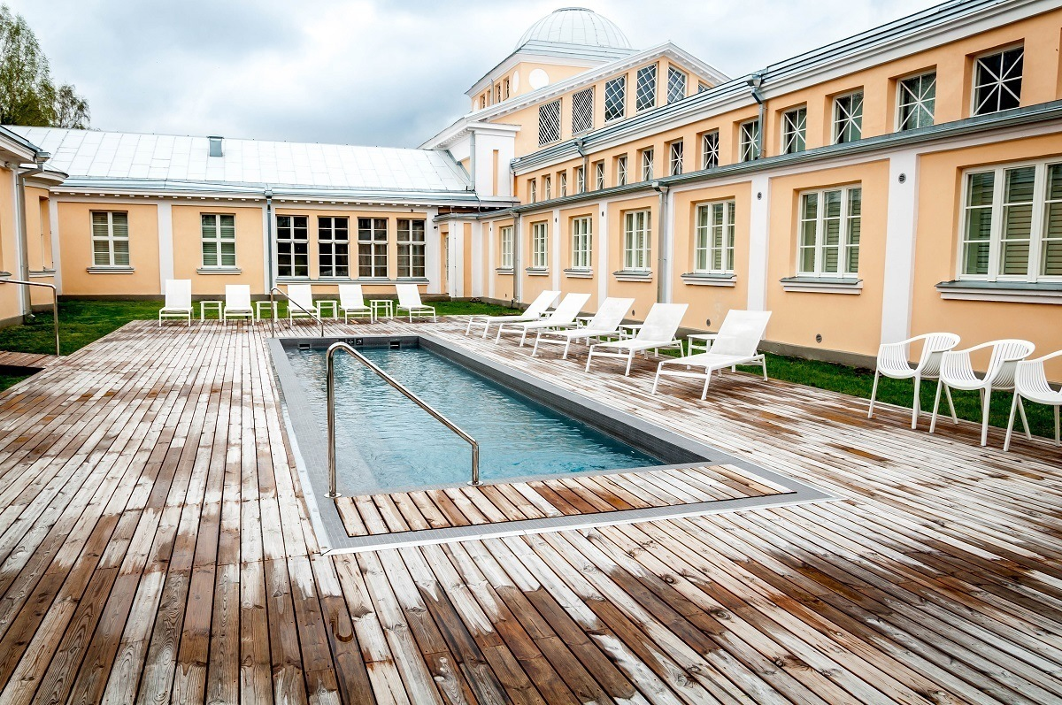 The Hedon Spa & Hotel in Parnu, Estonia, offers relaxation and luxury in an historic setting