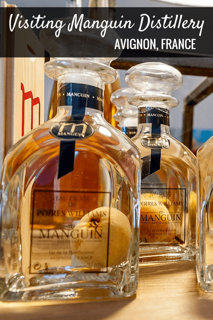 Manguin Distillery in Avignon, France, is famous for its Poire Williams Eau de Vie. Take a tour of this unique distillery and try its delicious products.