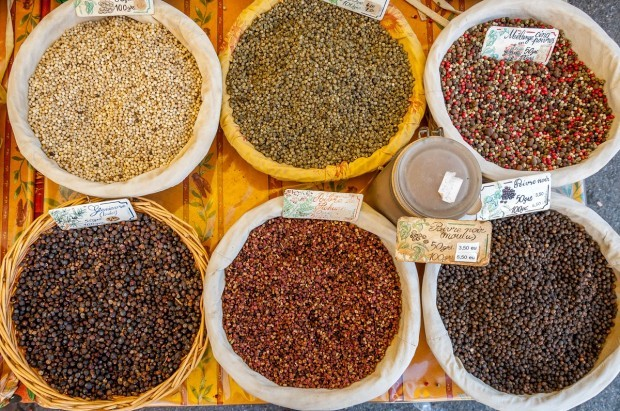 Markets in Provence are full of spices, produce. and meat | Postcards from Provence | Provence photos