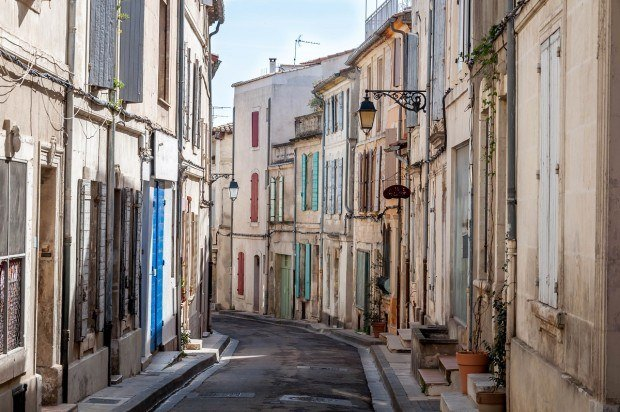 One of the quaint streets of Arles, France | Provence photos