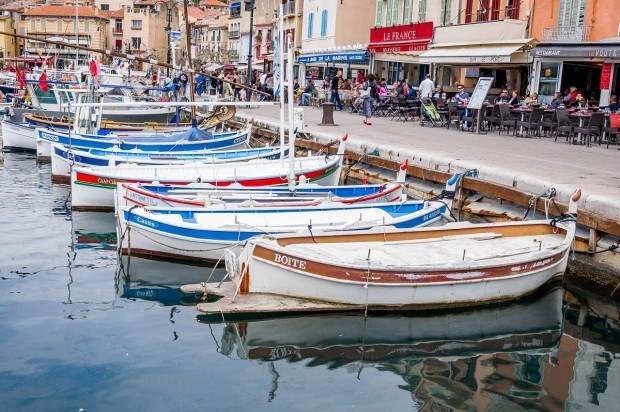 The seaside town of Cassis in the south of France is a fabulous place to spend an afternoon enjoying the good life | Postcards from Provence