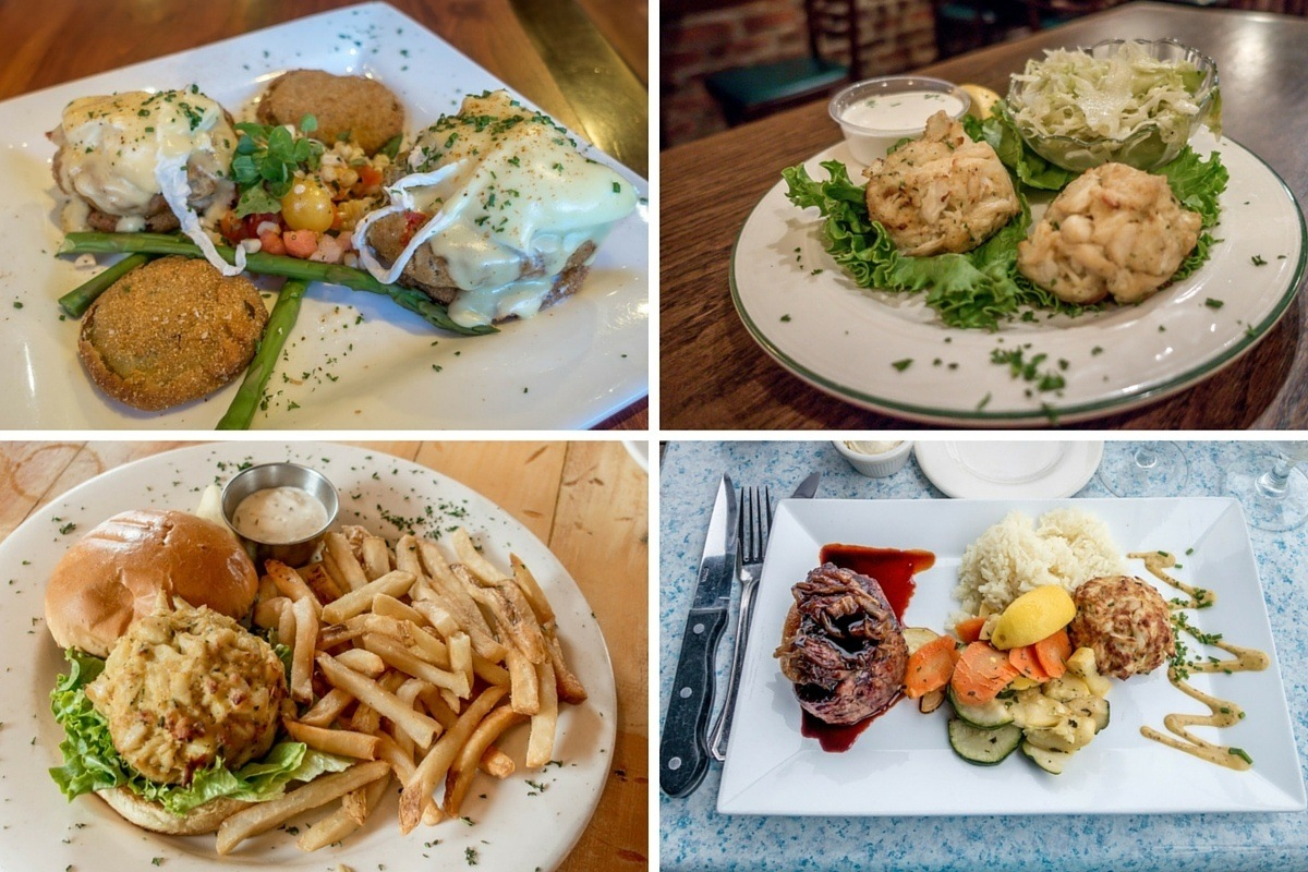 How many ways can you eat crab cakes? The options are nearly endless in Annapolis, Maryland.